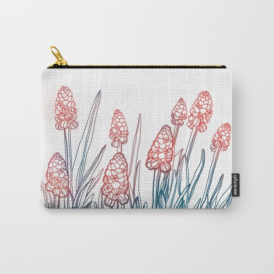 Hyacinths Carry-All Pouch
