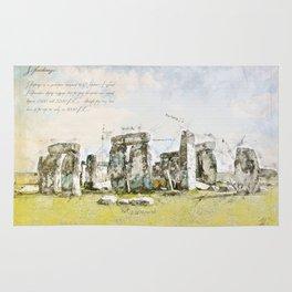 Stonehenge, England Rug