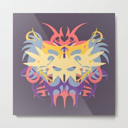 Abstraction Twenty-Six Baku Metal Print