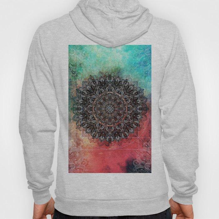 Higher Cosmic Vibrations Mandala Hoody