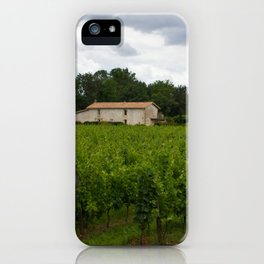 vineyards iPhone Case