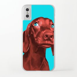 The Dogs: Guy 2 Clear iPhone Case