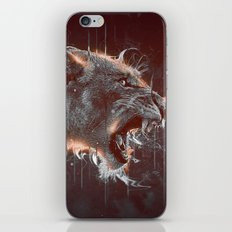 DARK LION iPhone & iPod Skin