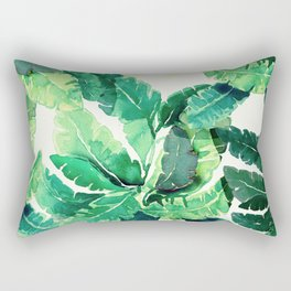 Tropical Green Rectangular Pillow