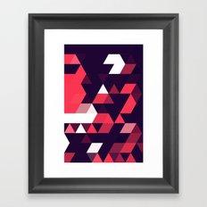 cyrysse lydy (flat version) Framed Art Print