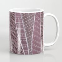 blankets Mugs featuring Pile on the blankets by Laura Lee Gulledge