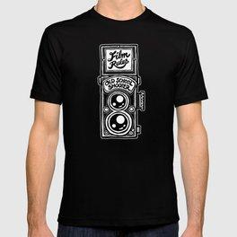 Analog Film Camera Medium Format Photography Shooter T-shirt