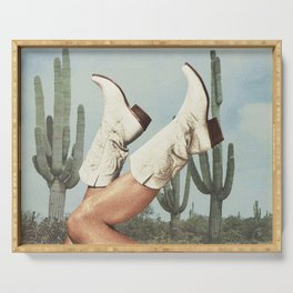 These Boots - Cactus & Yee haw Serving Tray