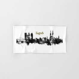 Skyline Zargreb Gold  Hand & Bath Towel
