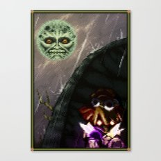 Pixel Art series 19 : 3 DAYS Canvas Print