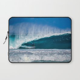 Surfing Pipe Laptop Sleeve