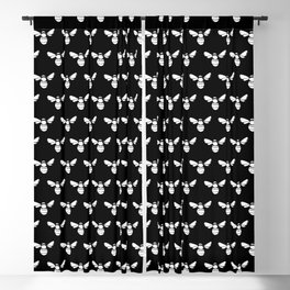 Bee Lovers Print // Save The Bees Blackout Curtain