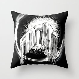 Spectre Throw Pillow