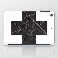 cross iPad Cases featuring Cross by hyun yu