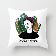 Veggie Frida Throw Pillow