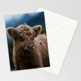 Baby Highland Cow Stationery Cards