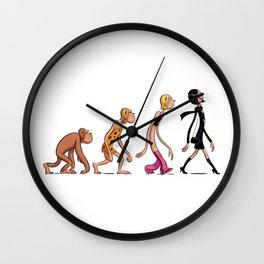 Évolution Wall Clock