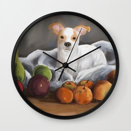 Linus Still Life Wall Clock