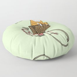 Take Me for a Ride Floor Pillow