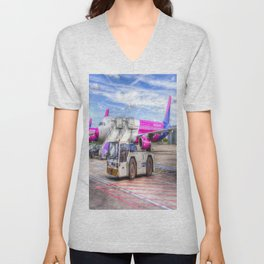 Wizz Air Airbus A321 Unisex V-Neck