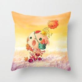 Monster Hottest Throw Pillow