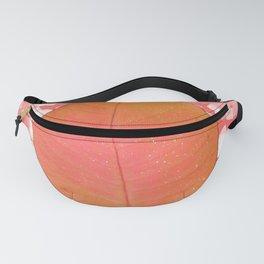 Pink Orange Leaf Fanny Pack