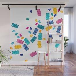 Sweet Jelly Beans & Gummy Bears Wall Mural