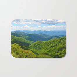 Smokey Mountain Summer Bath Mat