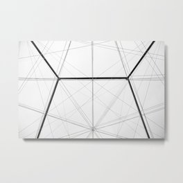 Intersect Metal Print