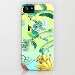 Gia in the Jungle - Green iPhone Case