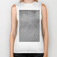 concrete Biker Tanks featuring Concrete by Coconuts & Shrimps