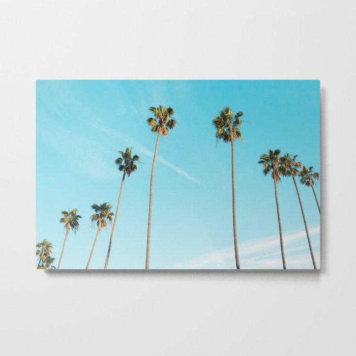 Palm Tree Sunshine Metal Print