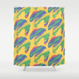 Nintendo 64 controllers (Colors) Shower Curtain