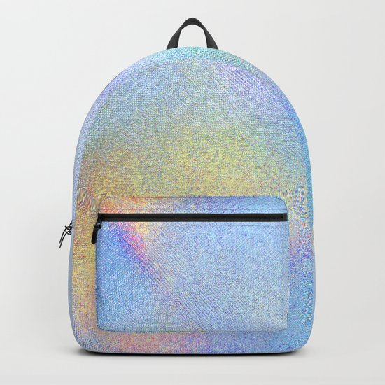 Holographic Iridescence Backpack