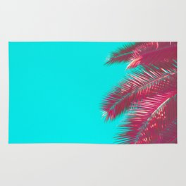 Neon Palm Rug