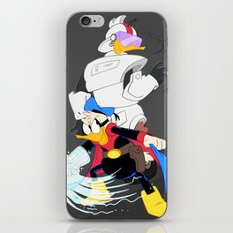 Paperinik and Gizmoduck iPhone Skin