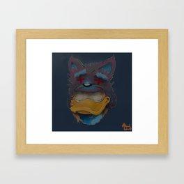 Bright Disease  Framed Art Print