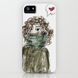Too cold iPhone Case
