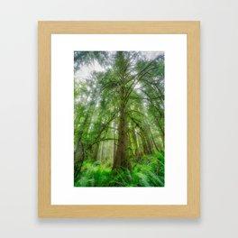 Ethereal Tree Framed Art Print