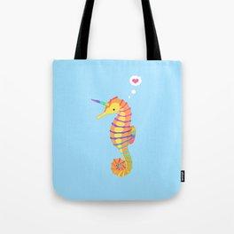Sea-Unicorn Tote Bag