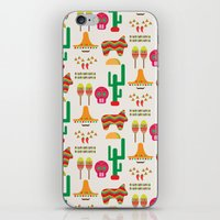mexico iPhone & iPod Skins featuring Mexico by Ana Types Type