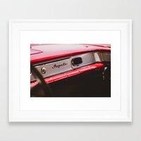 tame impala Framed Art Prints featuring Impala by Grafiko