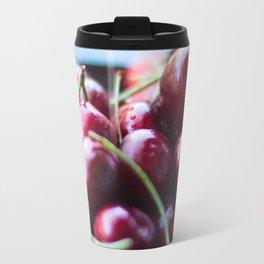Life IS a Big Bowl of Luscious Red Cherries Travel Mug