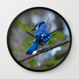 Showing his Colors Wall Clock