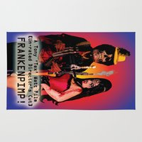 movie poster Area & Throw Rugs featuring Frankenpimp (2009) - Movie Poster by Tex Watt