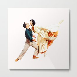 Gene Kelly and Cyd Charisse - Brigadoon Metal Print