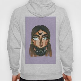 Witch and cat 1 Hoody