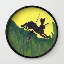 Young Peter Rabbit - Panel 1 Wall Clock
