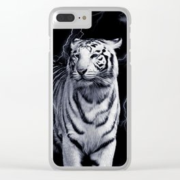 SPIRIT TIGER OF THE WEST Clear iPhone Case