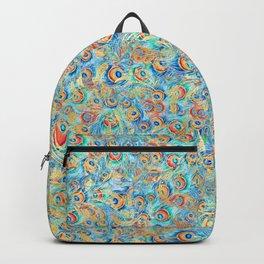 Peacock Pattern 02 Backpack